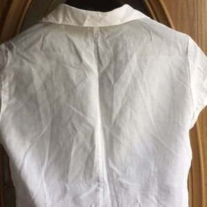 Laundry By Shelli Segal Tops - Super cute delicate white sheer top